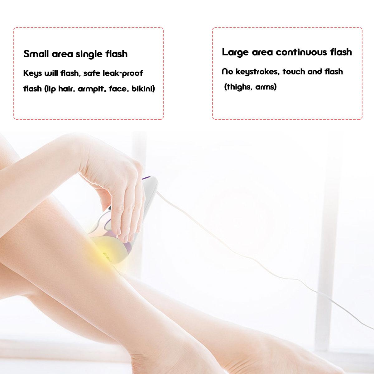 5 Speed Revolution IPL Permanent Лазер Волосы Удаление для 300 000 вспышек Эпилятор Безболезненный Электрический Волосы - фото 6