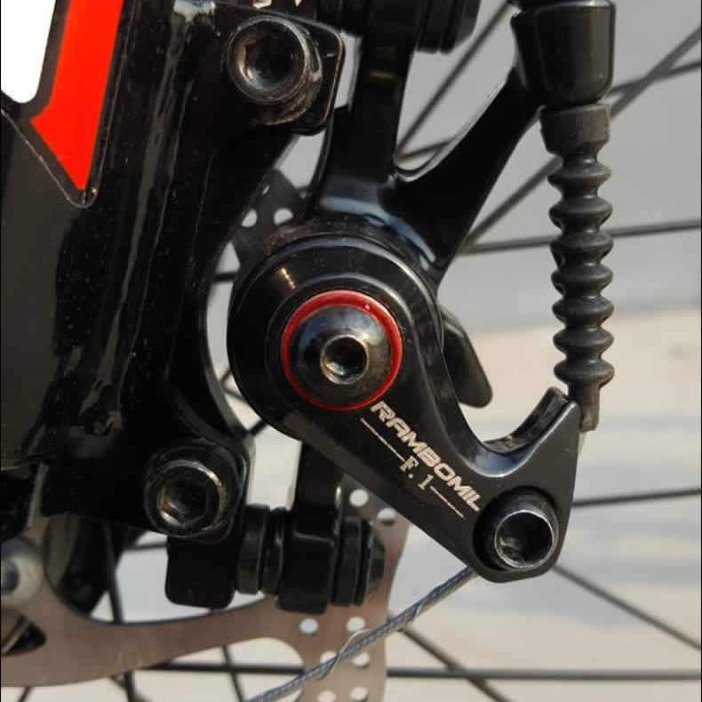 RAMBOMILRoadВелосипедВелосипедВелосипедТормозной диск TOP-F160 / R140 TOP-R160 / F180 Тормозной диск Набор - фото 5