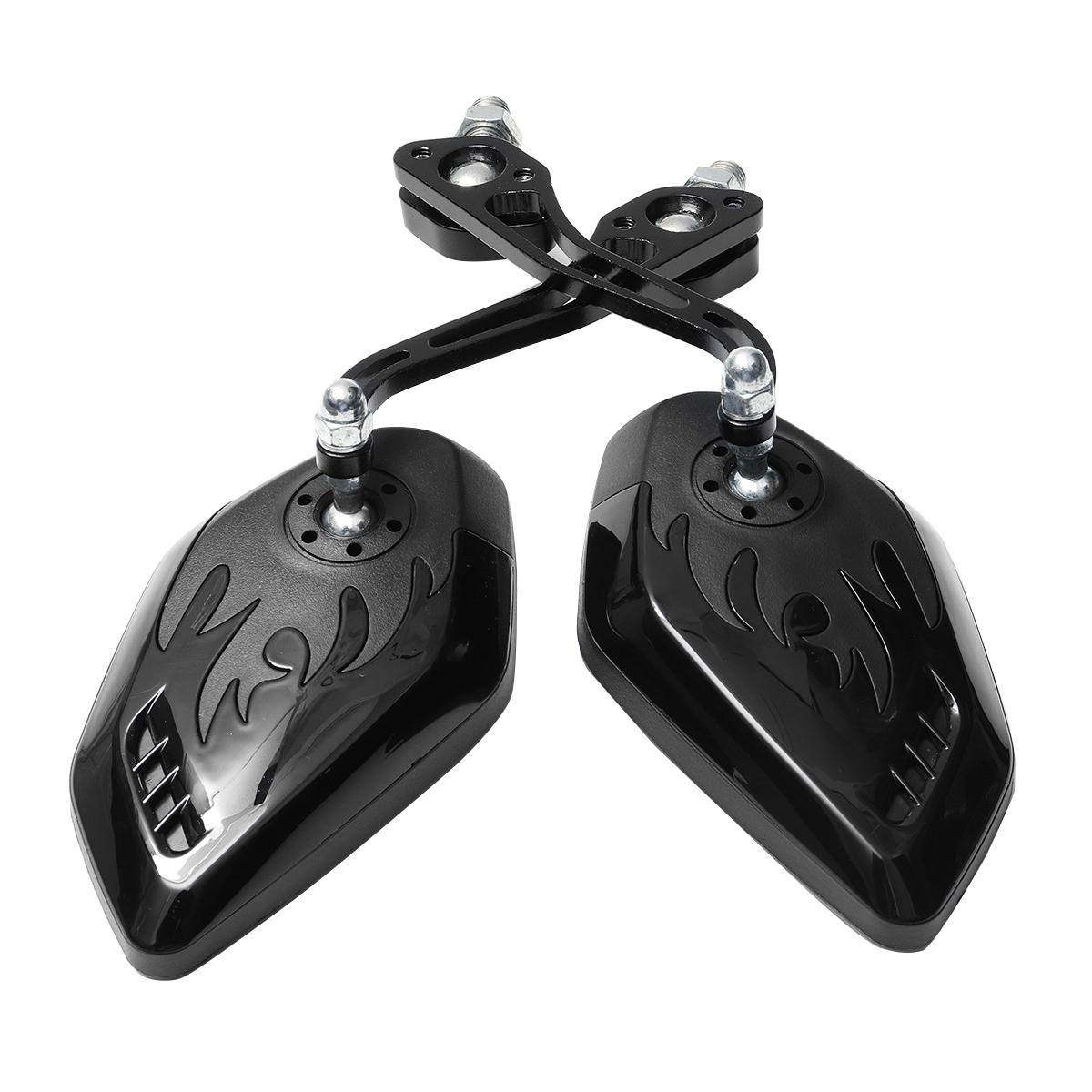 8/10 мм Универсальный мотоцикл Мотоциклетный скутер Боковые зеркала заднего вида - фото 6