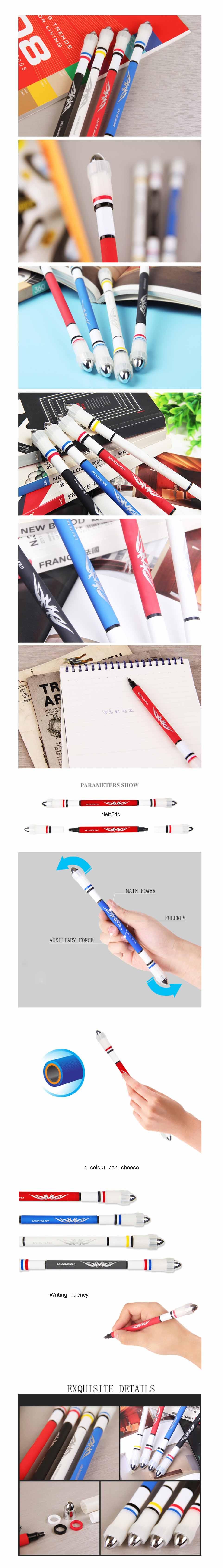 Шариковая ручка Chigo ZG-5096 Ручка Глянцевая версия V11 противоскольжения для офиса и Школа расходных материалов - фото 1