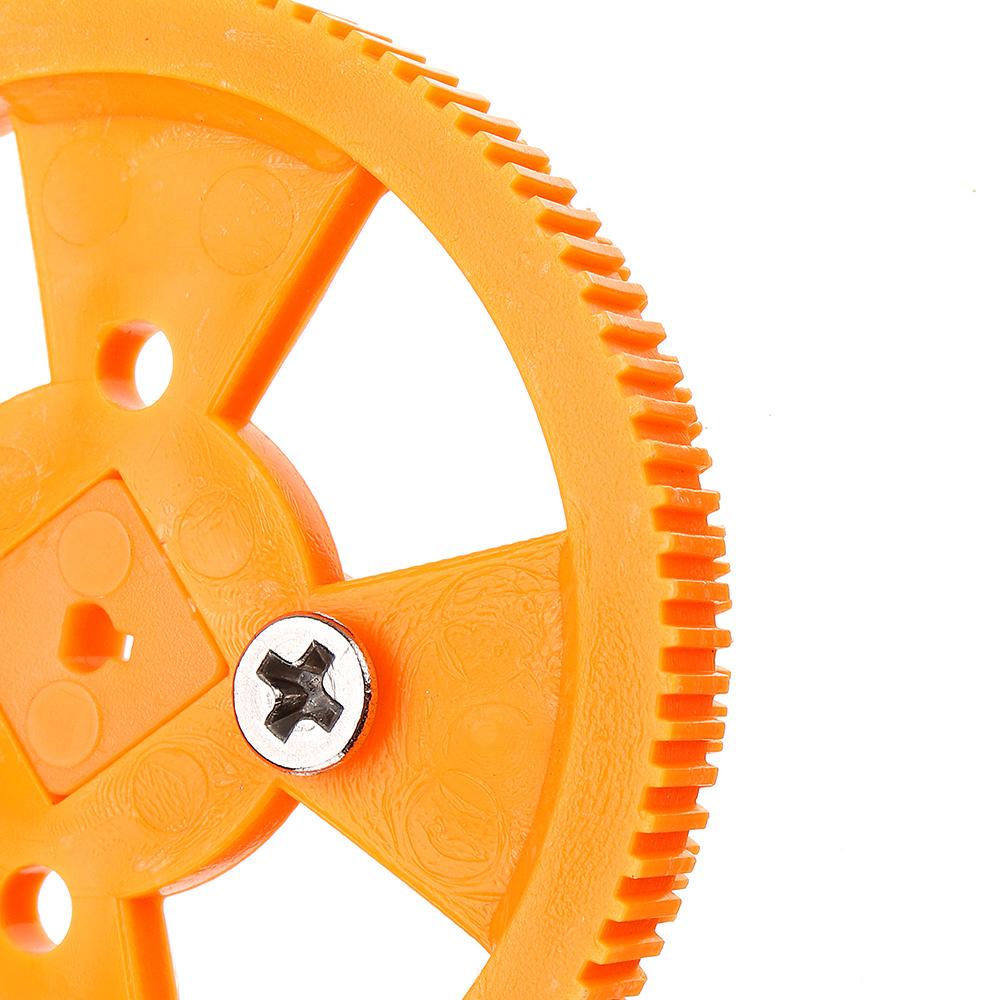 4шт 70 * 12мм Желтые износостойкие резиновые колеса для двигателя N20 - фото 6