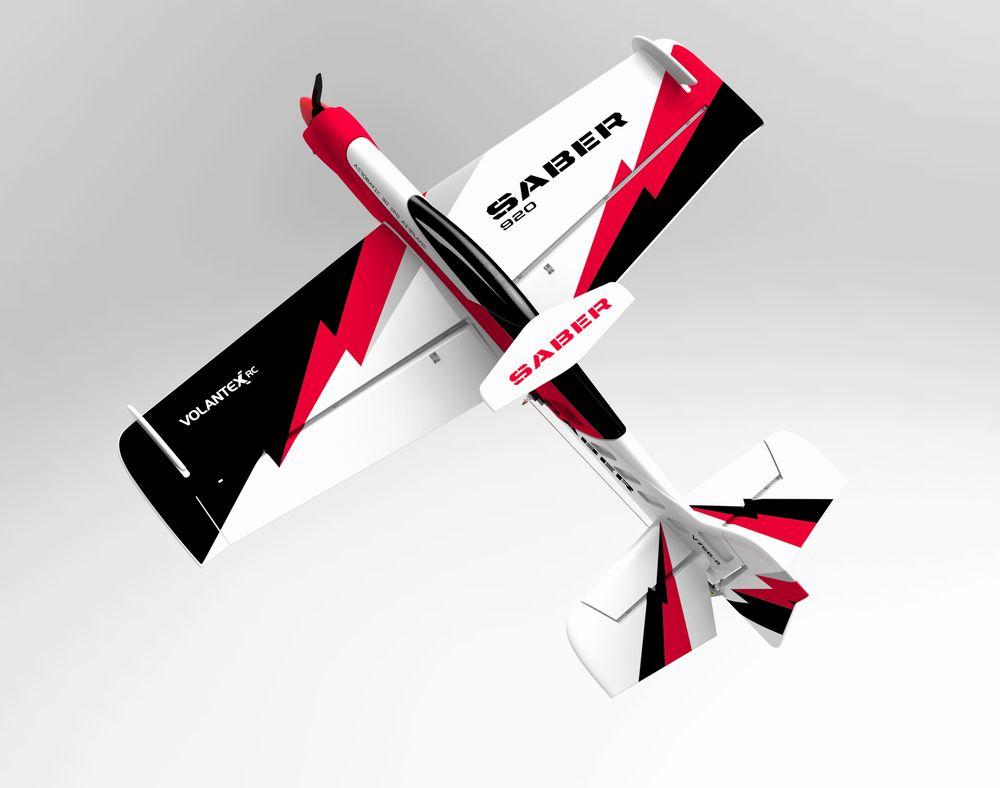 Volantex Sabre 920 756-2 EPO 920 мм Размах крыльев 3D Пилотажный самолет RC Самолет KIT / PNP - фото 5