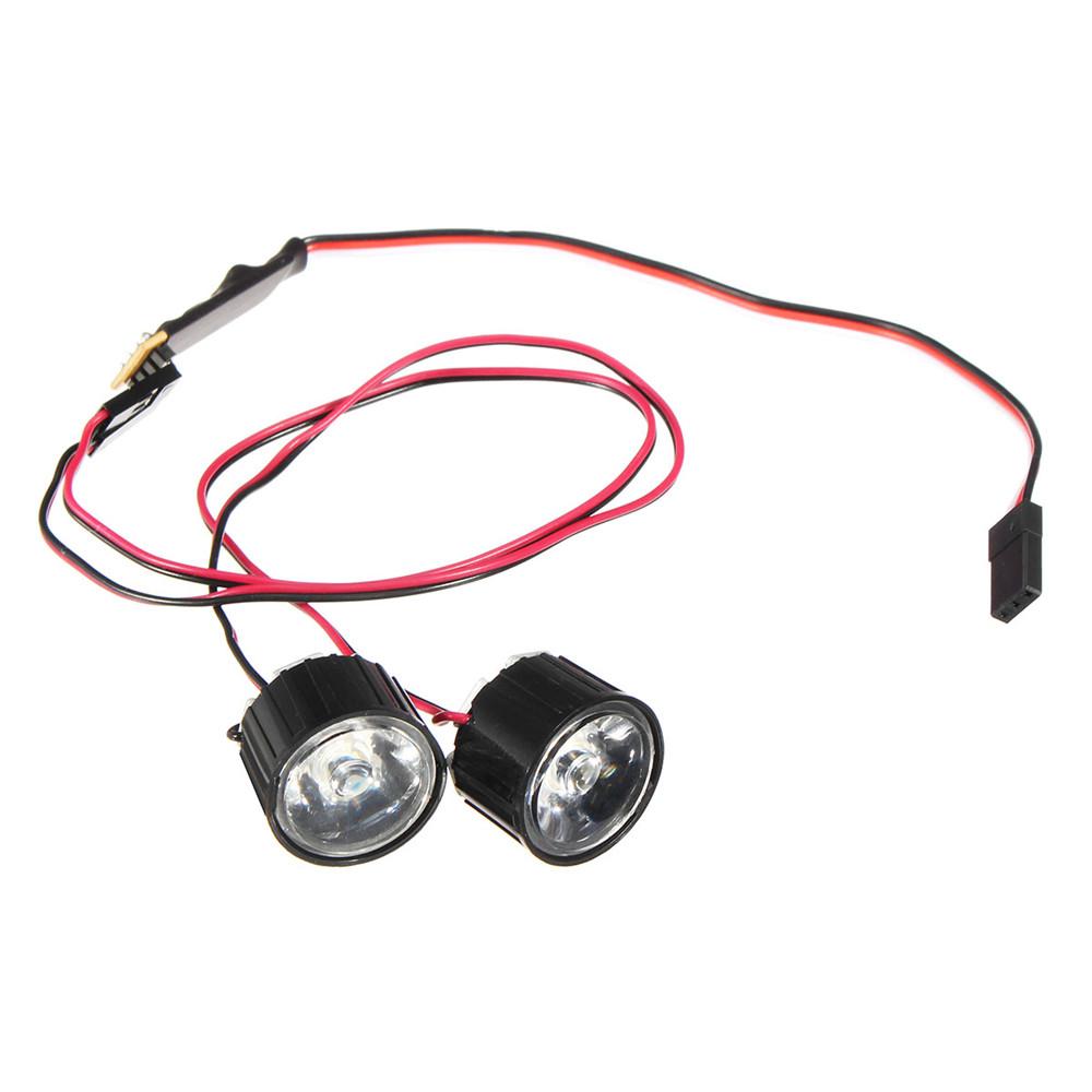 1 пара Светодиодный Фара дальнего света RC Авто DIY для Traxxas Slash REVO E-REVO X-MAXX - фото 5