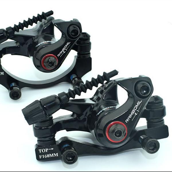 RAMBOMILRoadВелосипедВелосипедВелосипедТормозной диск F-1 Передний задний колесный тормозной диск Rotor Набор - фото 2