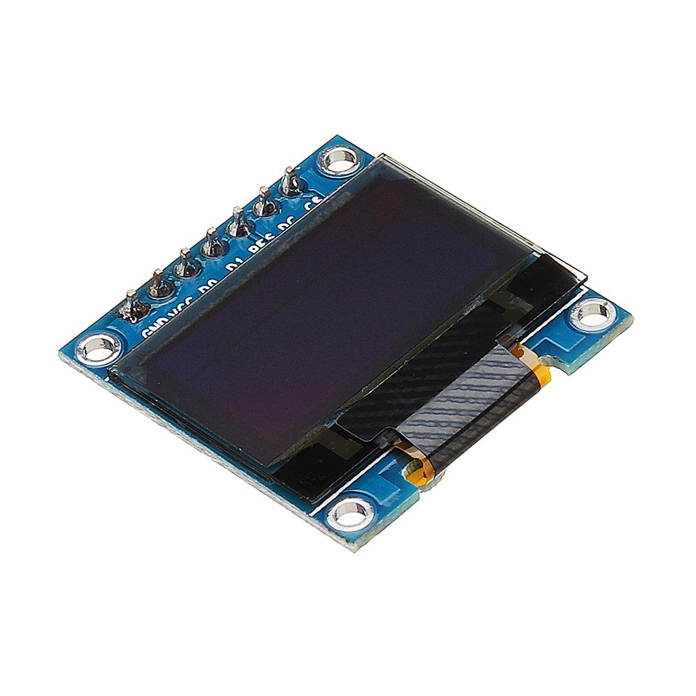 5шт 7Pin 0,96 дюймов OLED Дисплей 12864 SSD1306 SPI IIC Serial LCD Экран Модуль - фото 2