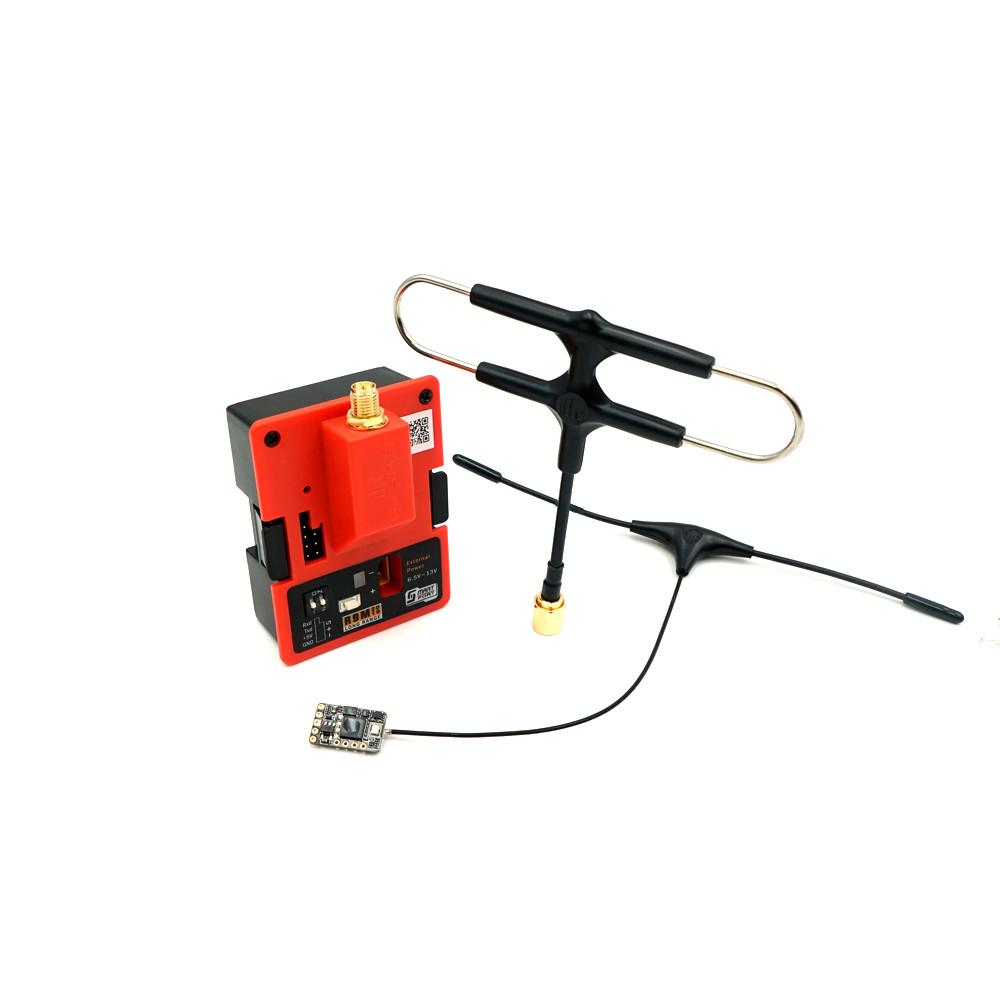 FrSky R9M 2019 Модуль передатчика дальнего действия 900 МГц и R9 MM Приемник с установленной антенной Super 8 и T - фото 1