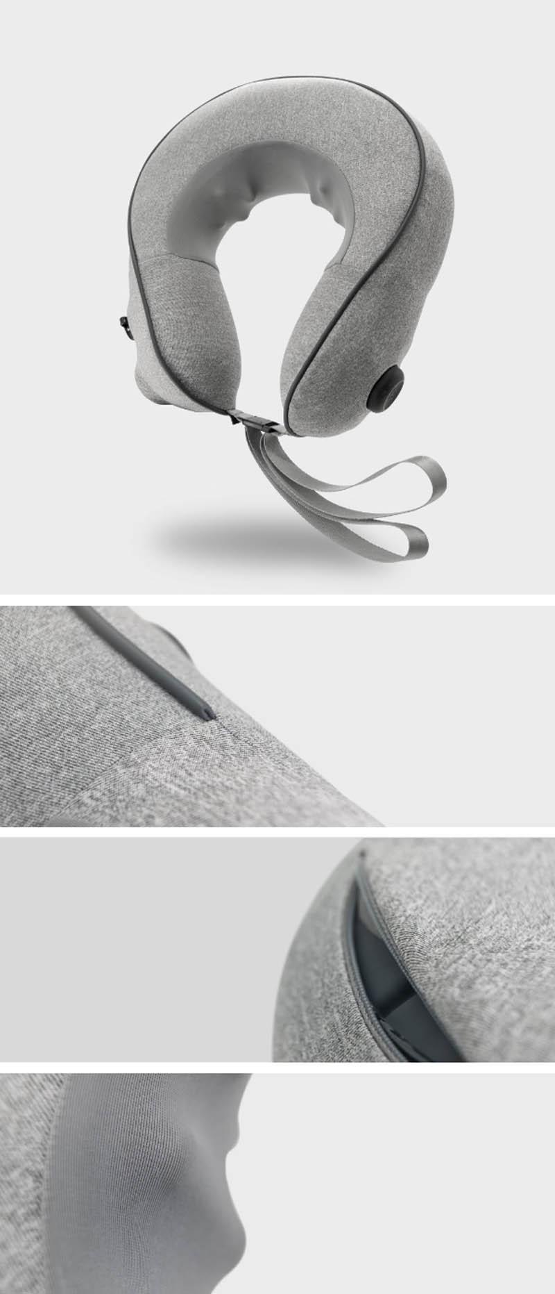 XiaomiПылU-образныйнадувнойразминаниеМассаж Шея Подушка плеча Шея Поддержка шейки - фото 1
