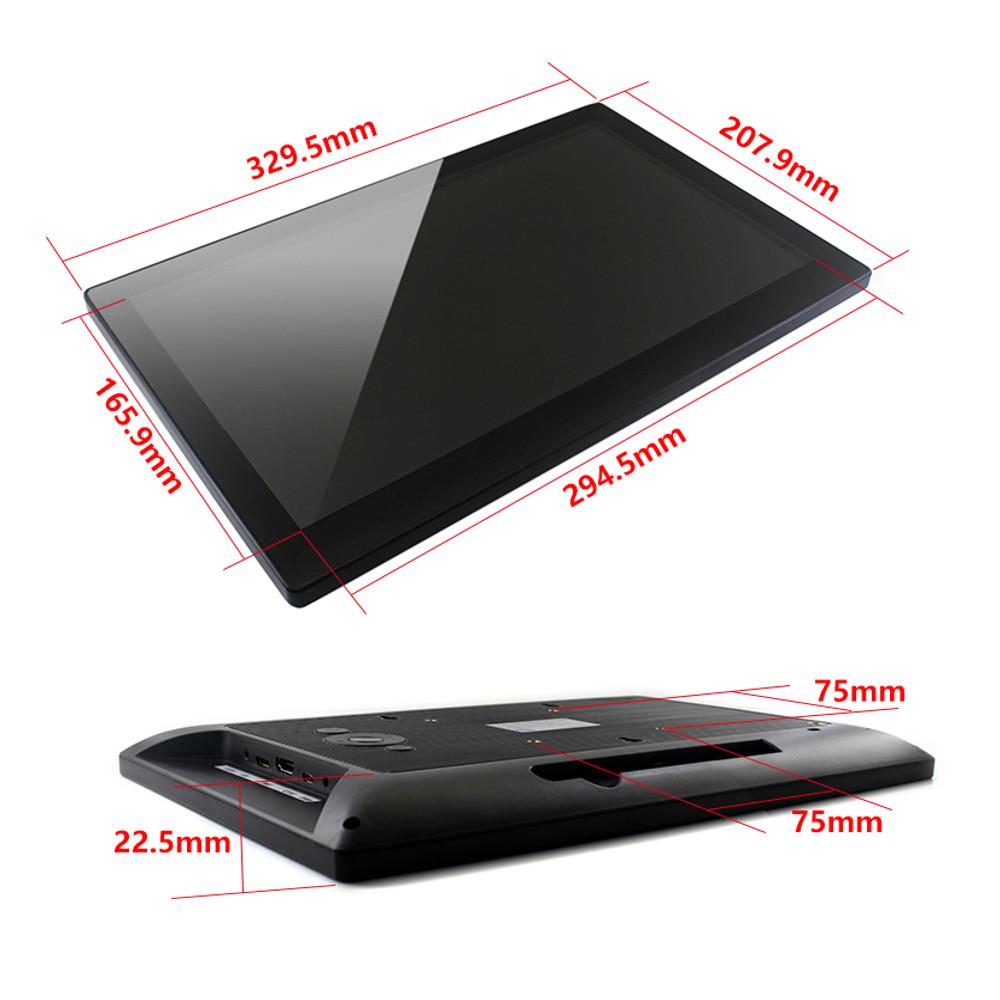 Wareshare 13,3 дюймов HDMI VGA HD Дисплей с емкостным сенсорным экраном из закаленного стекла 1920x1080 для NVIDIA Jetso - фото 2