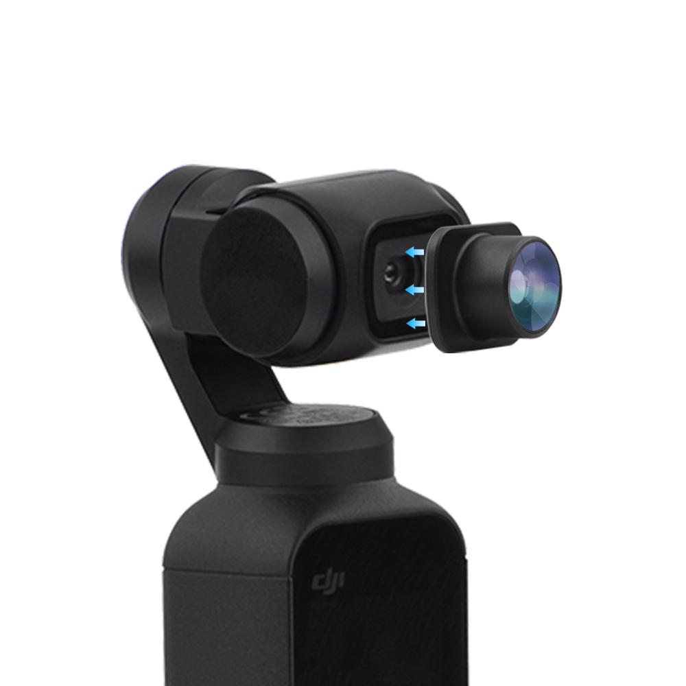 HD FishEye Объектив камера Объектив Фильтры для карманного компьютера OSMO DJI Gimbal Аксессуары - фото 9