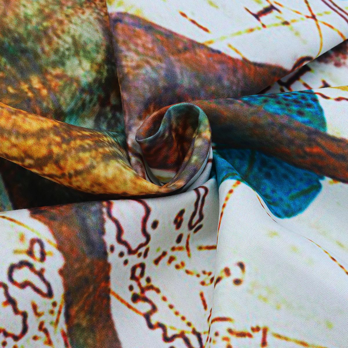 РетроОкеанМорскихЖивотныхГобеленМандала Хиппи Висит Декор Покрывало - фото 9
