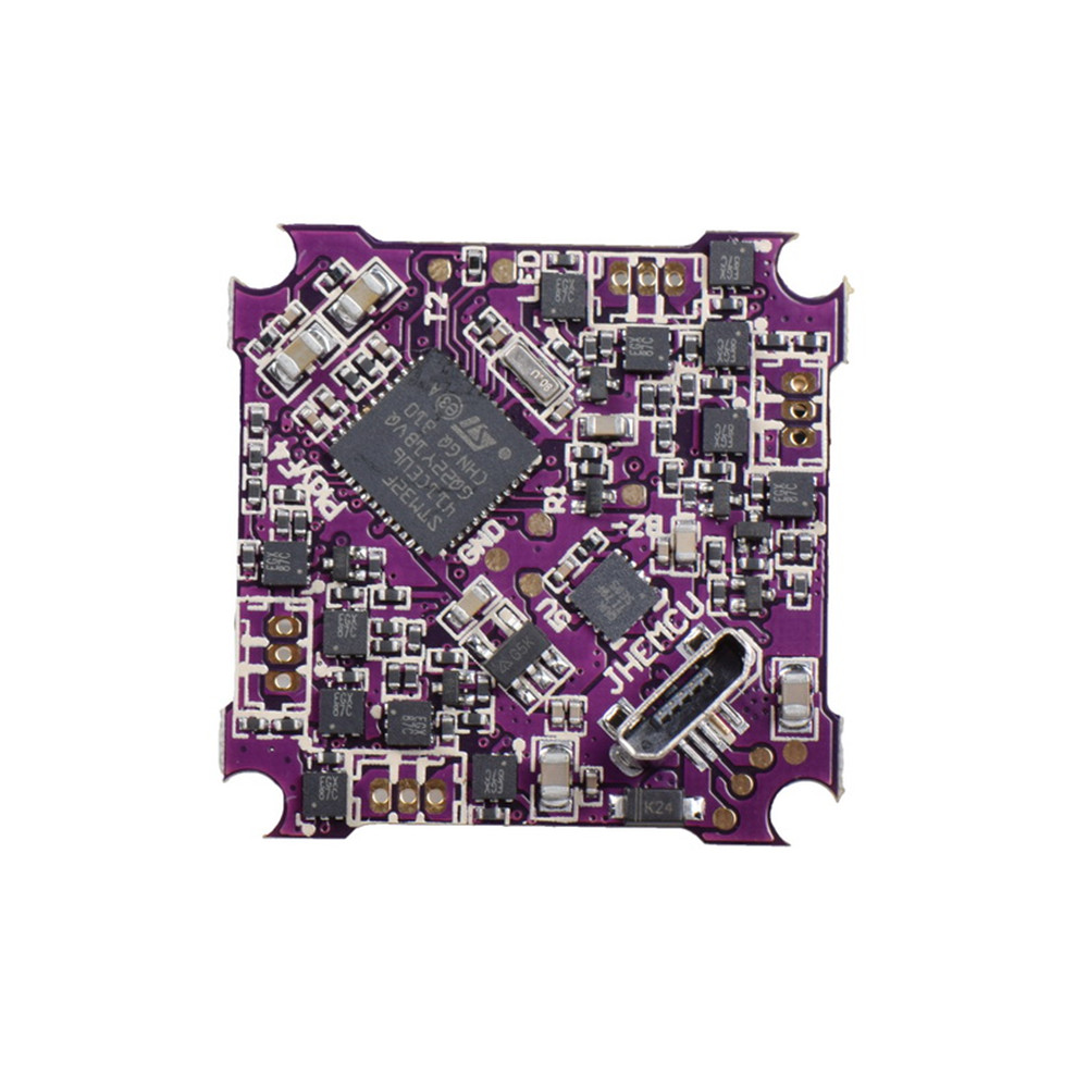 JHEMCU Play F4 Контроллер полета Whoop AIO OSD BEC & Встроенный 5A BL_S 1-2S 4in1 ESC для RC Дрон FPV Racing - фото 1
