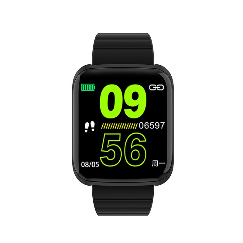 Bakeey 116 Pro 1,3-дюймовый большой вид Сердце Оценить артериальное давление Монитор Мульти-спортивные режимы Smart Watc - фото 11