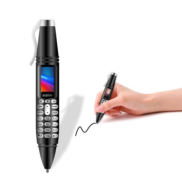 SERVO K07 0.96 дюймов 300 мАч Bluetooth-клавиатура Запись Ручка Почерк Ручка Фонарик камера Телефон с двумя SIM-картами - фото 1