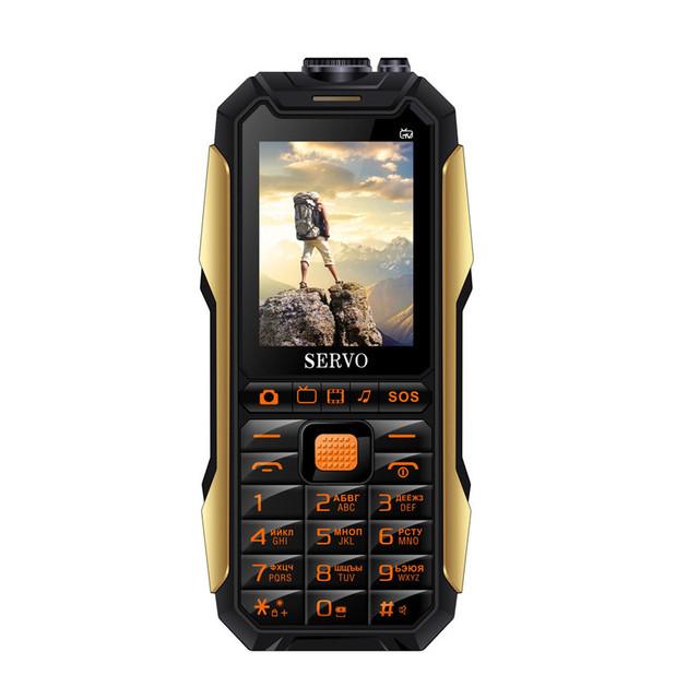 SERVO X7 2.4 '' 4000mAh Антенна Аналоговое изменение голоса телевизора Лазер Фонарик OTG 3 SIM-карты с функцией - фото 4