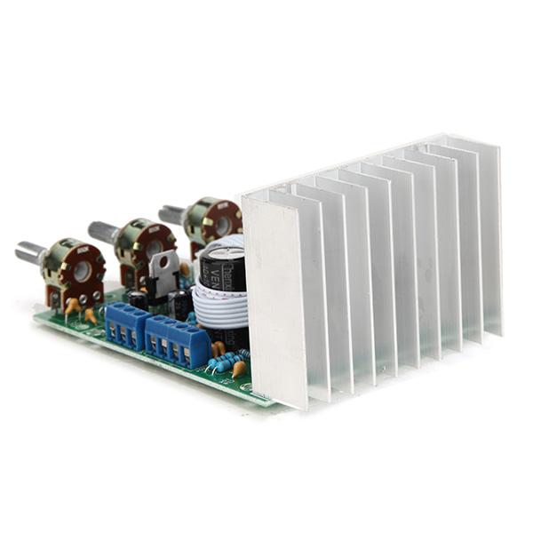 TDA2030A Сабвуфер Усилитель Плата 2.1 3-канальная Совместимость LM1875 - фото 5