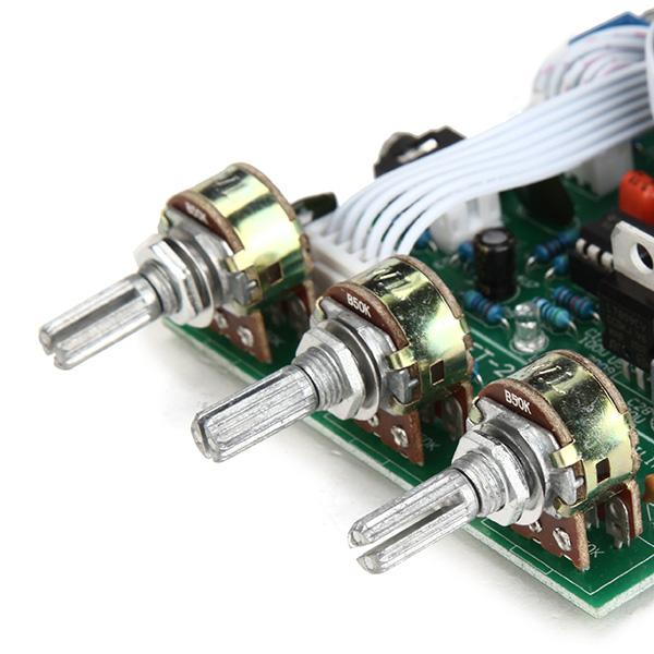 TDA2030A Сабвуфер Усилитель Плата 2.1 3-канальная Совместимость LM1875 - фото 6