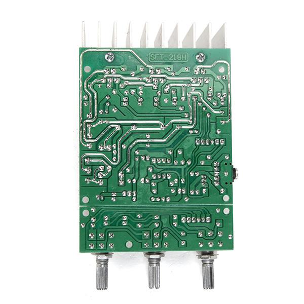 TDA2030A Сабвуфер Усилитель Плата 2.1 3-канальная Совместимость LM1875 - фото 8