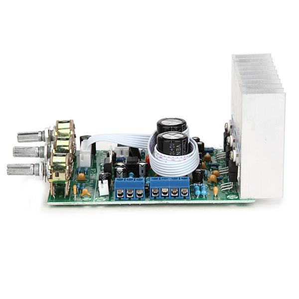 TDA2030A Сабвуфер Усилитель Плата 2.1 3-канальная Совместимость LM1875 - фото 4