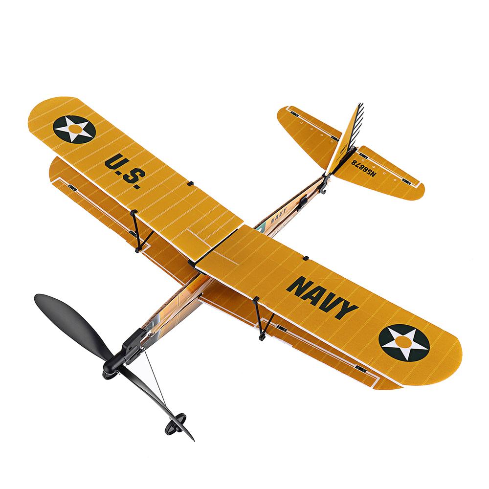 Модель STEM ZT 18 дюймов STEARMAN Rubber Стандарты Модель самолета с воздушным двигателем - фото 4