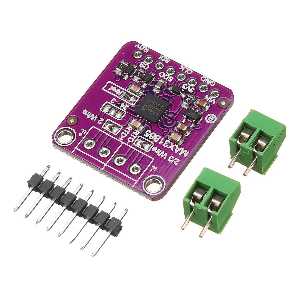 3 шт. GY-31865 MAX31865 Температура Датчик Модуль RTD Модуль Цифрового Преобразования - фото 1