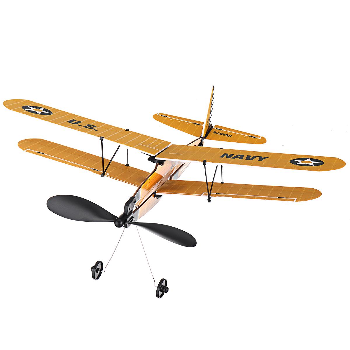 Модель STEM ZT 18 дюймов STEARMAN Rubber Стандарты Модель самолета с воздушным двигателем - фото 6