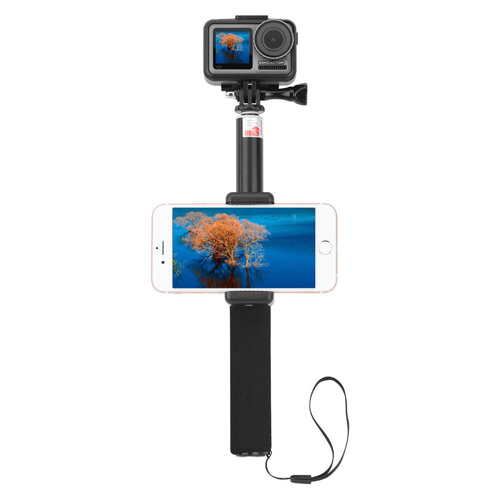 Спорт камера Удлинитель Ручной Gimbal Кронштейн со съемным зажимом для телефона для DJI Osmo Действие камера - фото 5