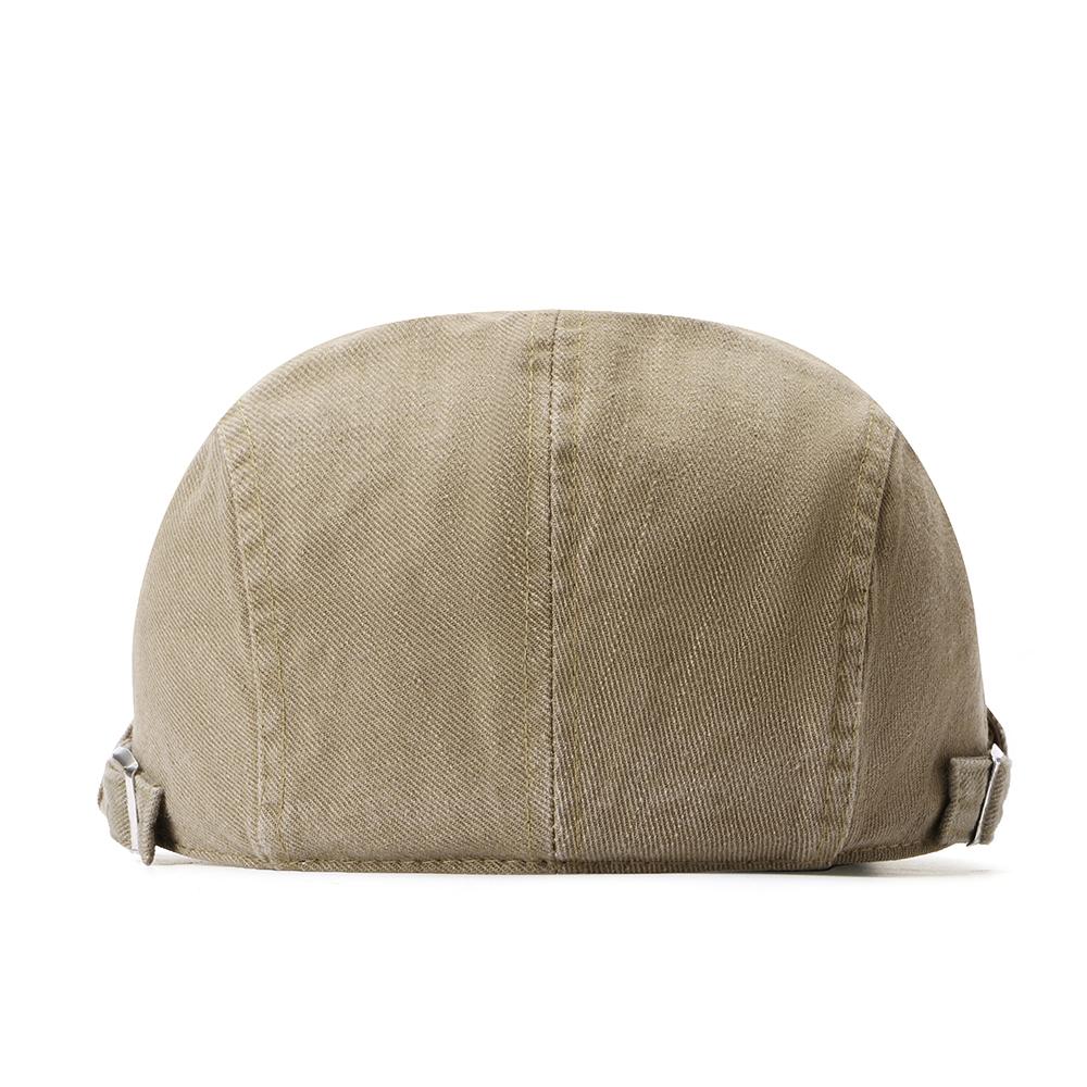 Регулируемые двухсторонние мужчины Женское Беретные шапки маляра Classic Газетчик Такси Шапка - фото 2
