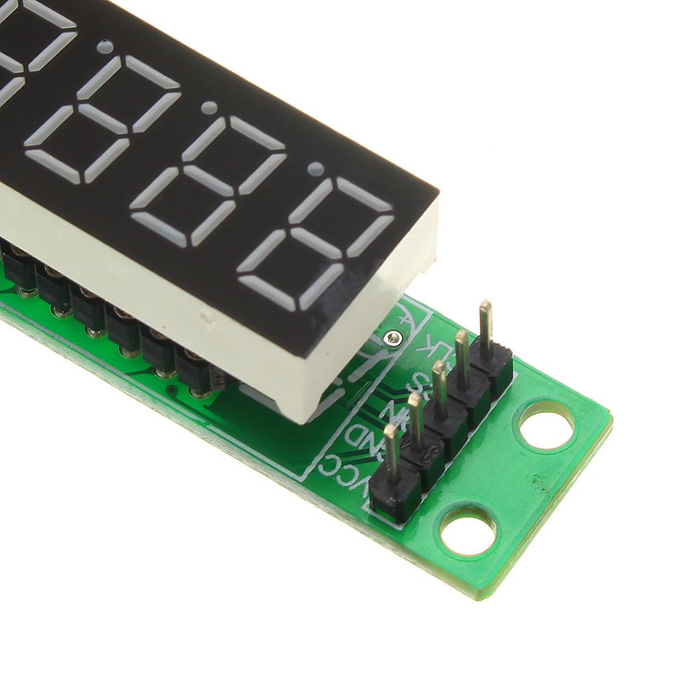 3шт MAX7219 красный 8 битный цифровой Трубка LED Дисплей модуль для микроконтроллеров - фото 9