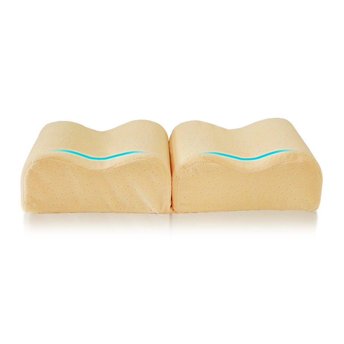 Подушка Sleep Foam Yoga Подушка для ног Спальники и боковые шпалы, эргономичный вариант пуховой альтернативы между и под - фото 5