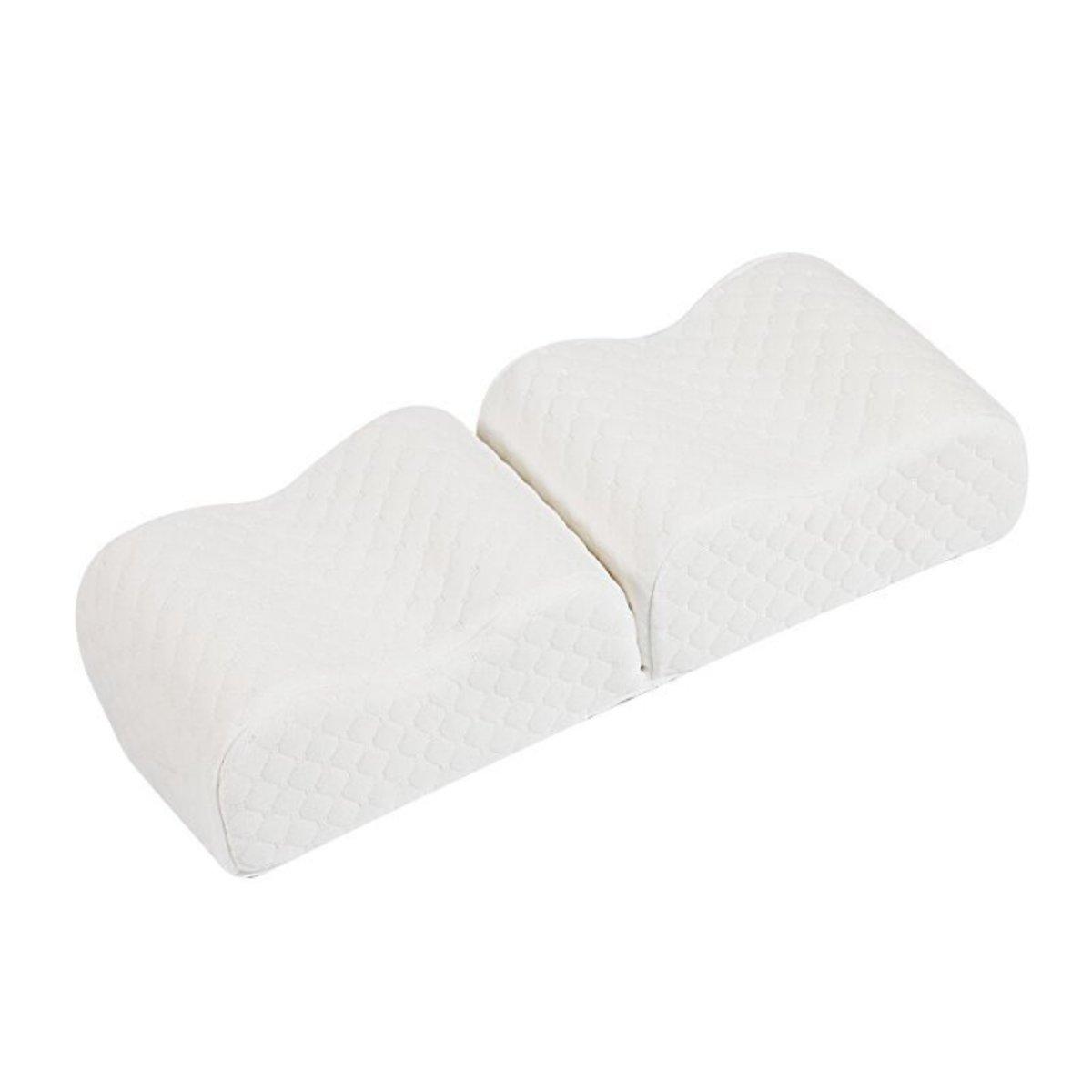Подушка Sleep Foam Yoga Подушка для ног Спальники и боковые шпалы, эргономичный вариант пуховой альтернативы между и под - фото 6