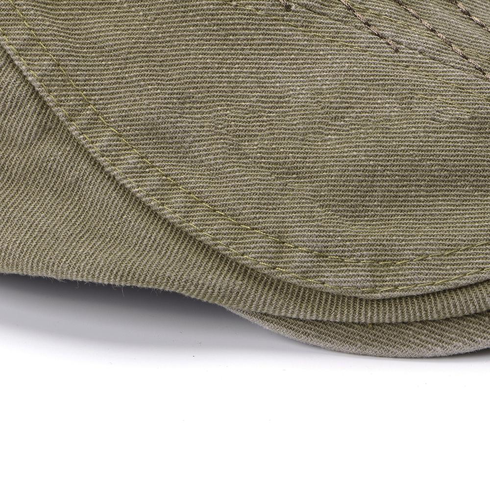 Регулируемые двухсторонние мужчины Женское Беретные шапки маляра Classic Газетчик Такси Шапка - фото 6