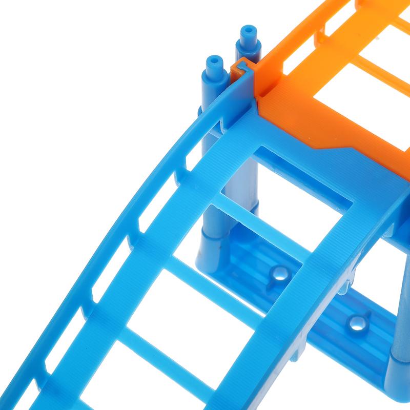 88шт / 90шт DIY трек гонки Авто детские игрушки Набор электрические Авто трек игрушки детские подарки 63,5 * 31,5 * 14,5 - фото 7