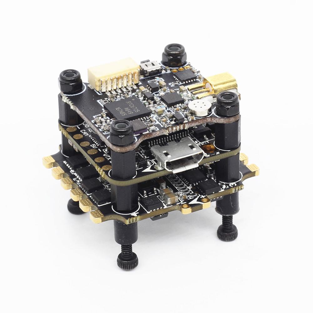 HGLRC XJB F438-Forward VTX Мини 20x20 мм стека F4 V2 Контроллер полета и 33A BL_S ESC & 25/100/200/350 мВт VTX - фото 3