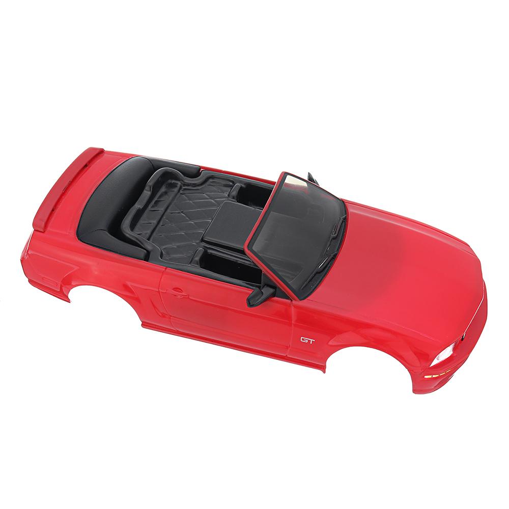 Firelap RC Авто Корпус для 1/28 Das87 Wltoys Mini-Q RC Модель автомобиля Красный - фото 4