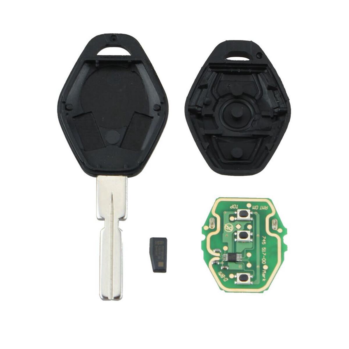 3 BTN 315MHz ID44 Chip HU58 Дистанционный Ключ для BMW 3 5 7 Series E38 E39 E46 - фото 4