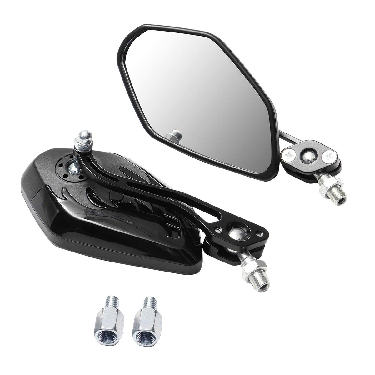 8/10 мм Универсальный мотоцикл Мотоциклетный скутер Боковые зеркала заднего вида - фото 5
