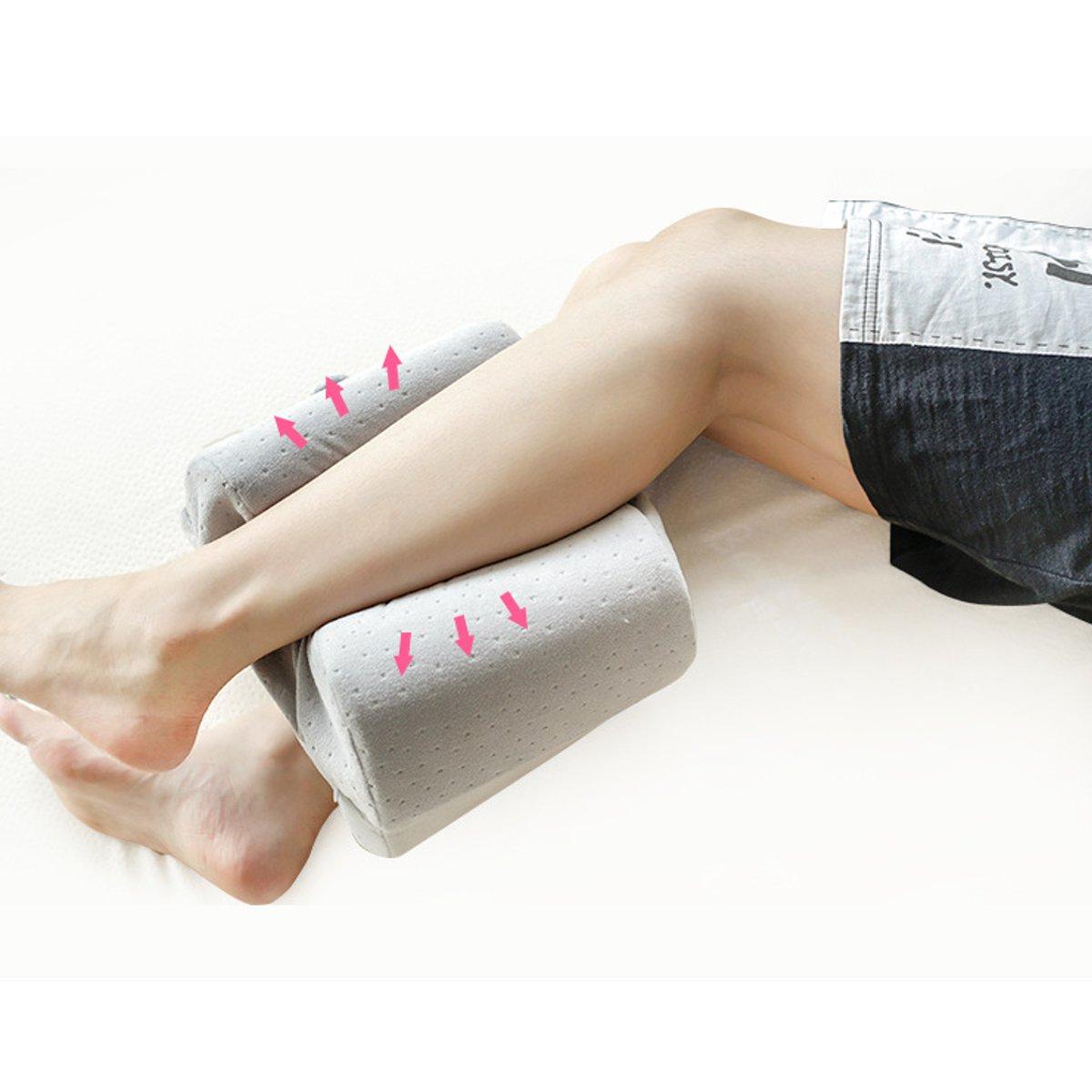 Подушка Sleep Foam Yoga Подушка для ног Спальники и боковые шпалы, эргономичный вариант пуховой альтернативы между и под - фото 1