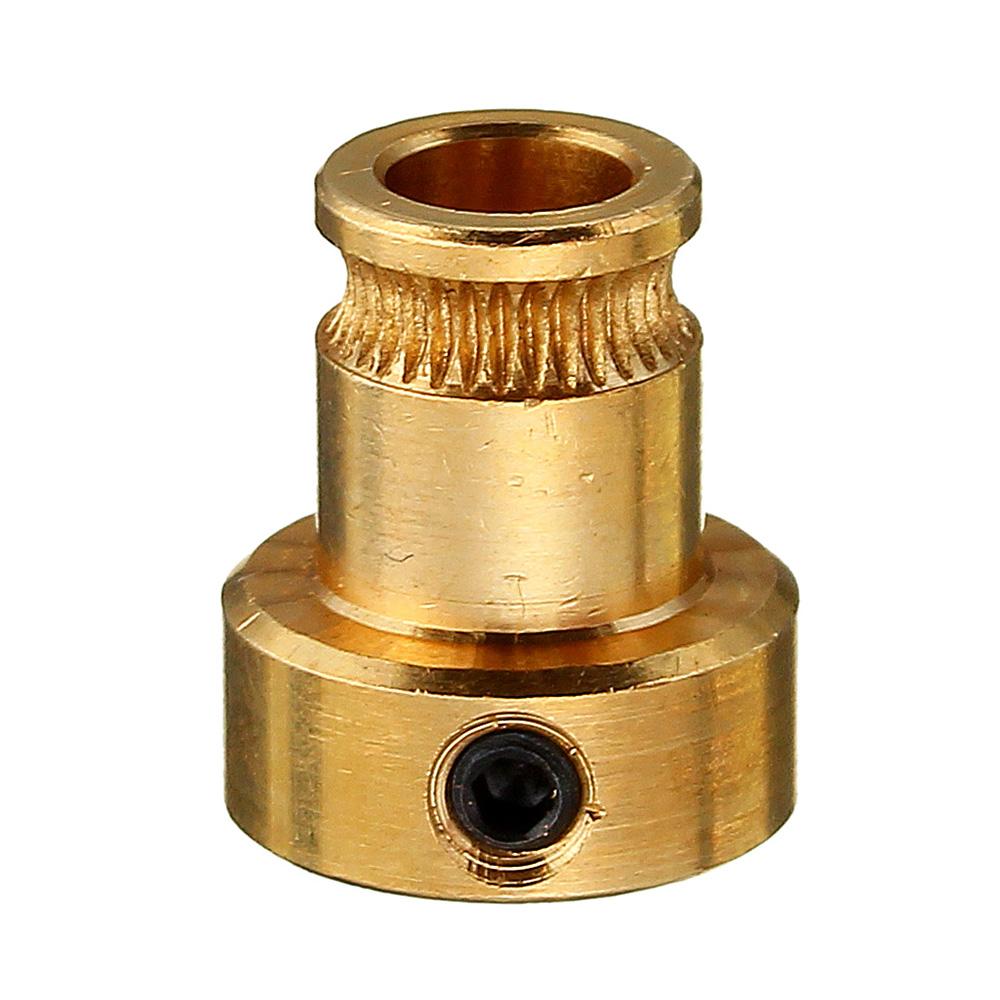 8шт латунь подачи колесо 1.75 мм нити экструдер приводной механизм для 3D-принтер шкив экструдера - фото 3