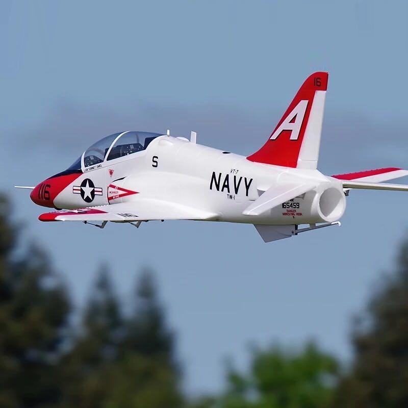 QT-МОДЕЛЬ T45 V2 EPO 960 мм Размах крыльев RC Самолет Jet Шкала Увеличить Зенкованный ястреб с фиксированным крылом PNP - фото 2