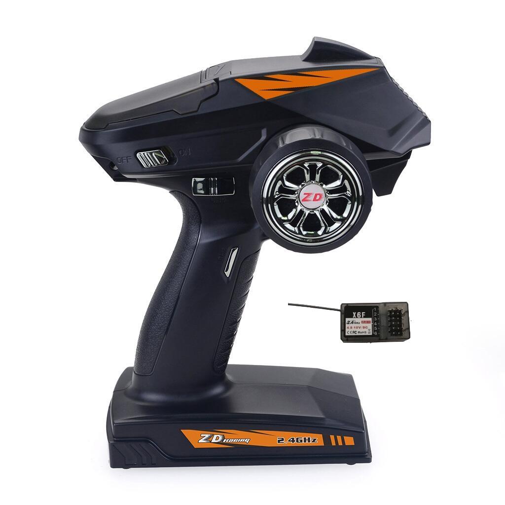 ZD Racing 8277 2.4G 4CH Радио 500M Передатчик Дистанционное Управление с Приемник для Rc Авто Танк Лодка - фото 4