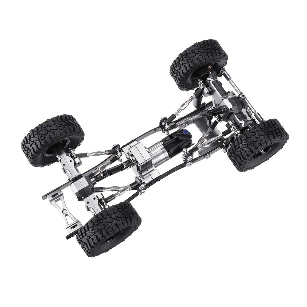 WPL C14 C24 1/16 Металл RC Авто Обновление шасси Запчасти RC Модели автомобилей - фото 8
