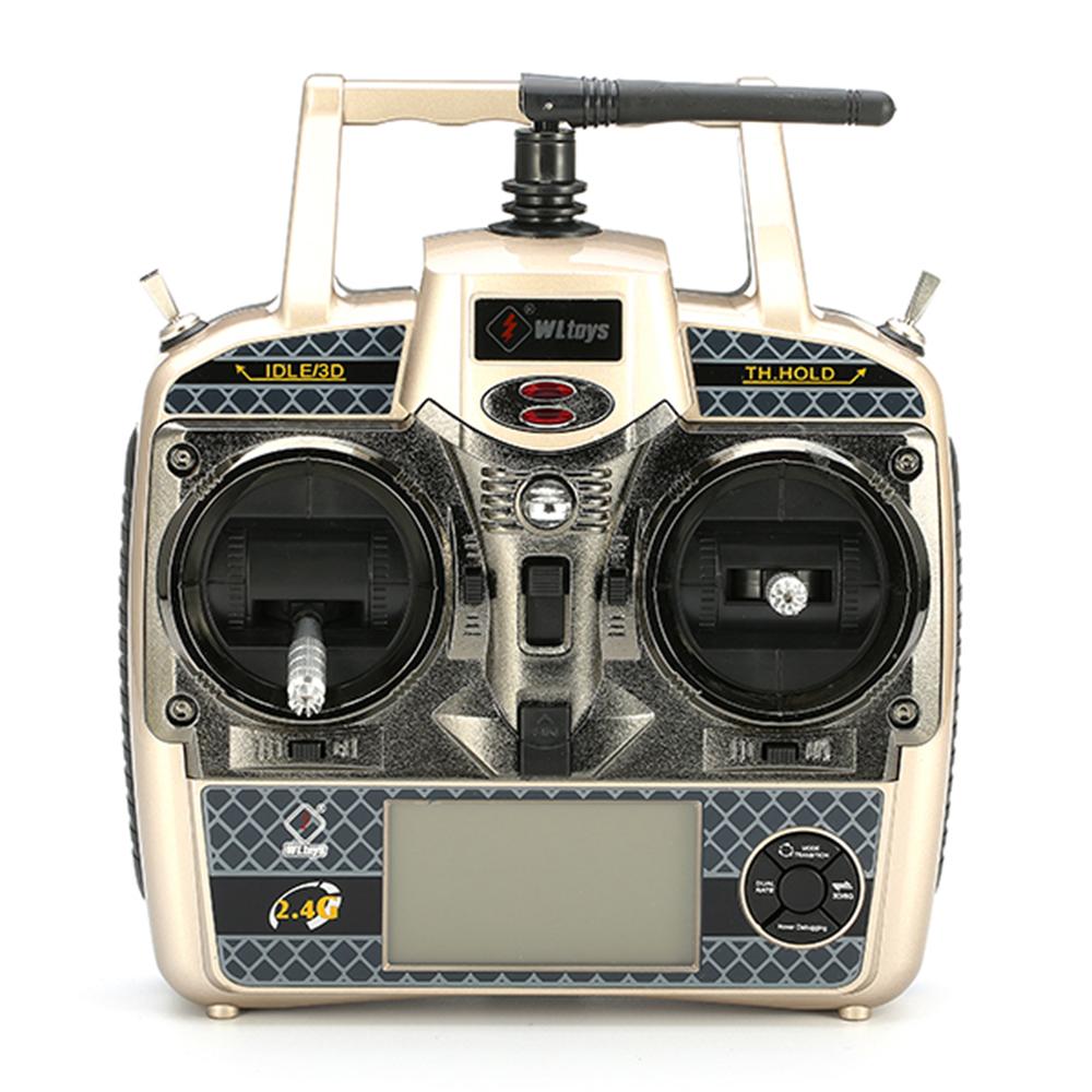 WLtoys V950 2.4G 6CH 3D6G System Бесколлекторный Flybarless RC Вертолет RTF с 4PCS 11.1V 1500MAH Lipo Батарея - фото 10