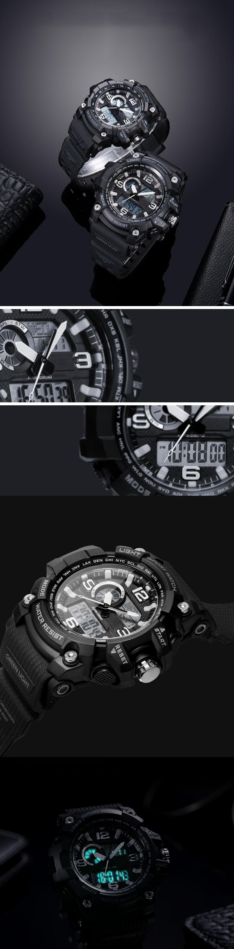 XiaomiTwentySeventeen50ATMВодонепроницаемыЭлектроникаДисплей Цифровые часы На открытом воздухе Спортивные умные час - фото 2