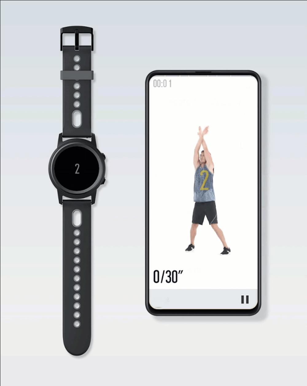 XIAOMIYUNMAI1,3-дюймовыйAMOLEDсенсорныйэкран GPS + ГЛОНАСС Водонепроницаемы Смарт-часы Фитнес Спортивный браслет - фото 9