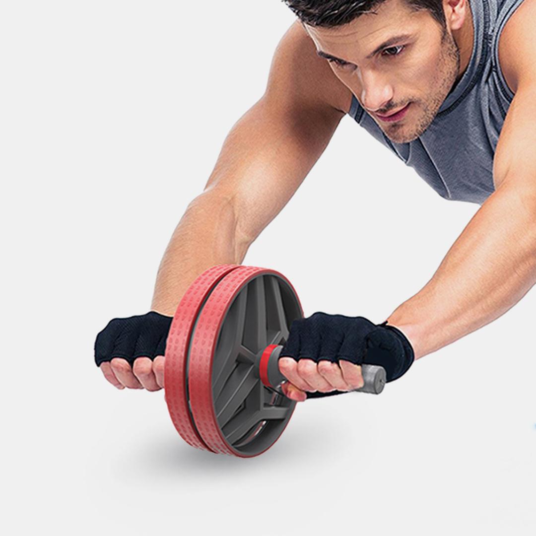 XiaomiКОРМИЛИКомнатноебрюшноеколесоРолик Нескользящие спортивные Фитнес ягодицы спины Тренажер для мышц брюшного пр - фото 6