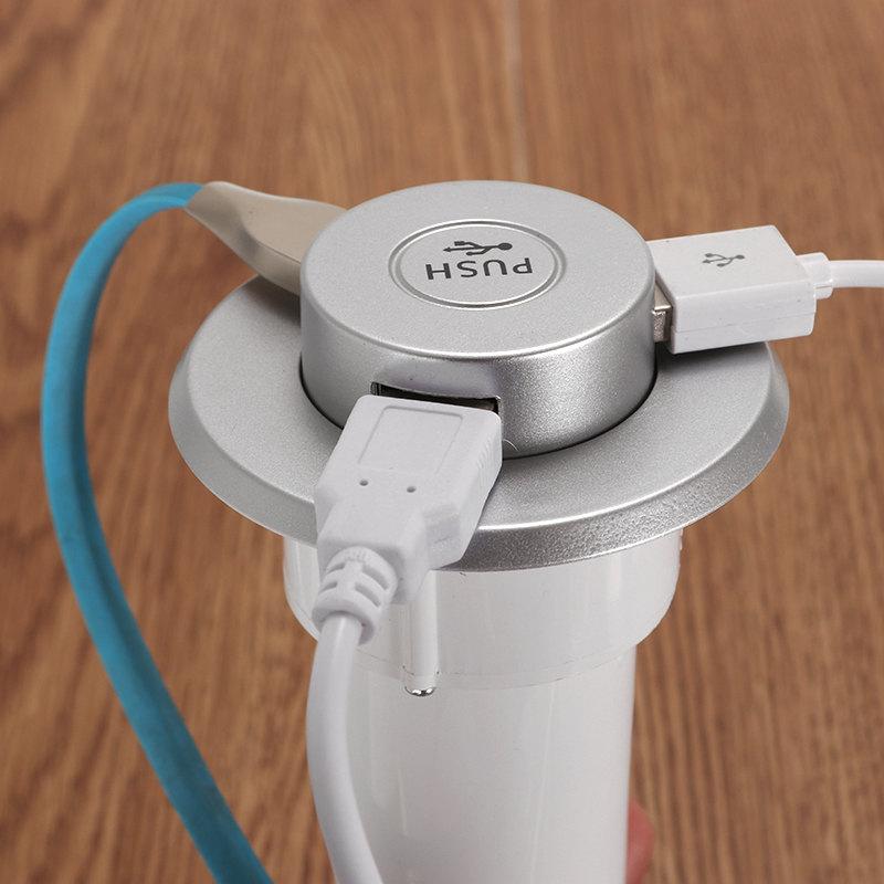 Bakeey Портативный 3-портовый HUB Desktop встроенный адаптер USB-зарядного устройства для Samsung S9 S8 Note 8 - фото 5