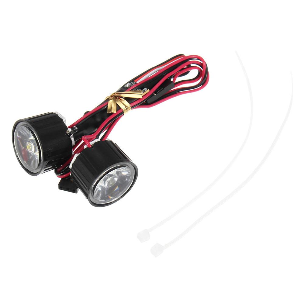 1 пара Светодиодный Фара дальнего света RC Авто DIY для Traxxas Slash REVO E-REVO X-MAXX - фото 8