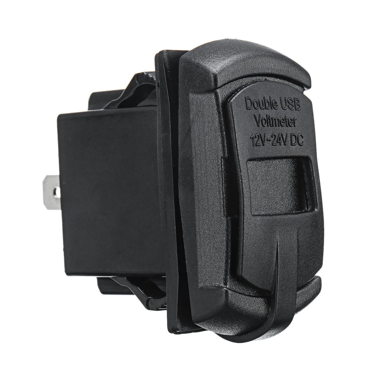 Зарядное устройство USB для Polaris UTV RZR RZR4 Ranger XP 1000 900 800 Crew 2015 2016 - фото 6
