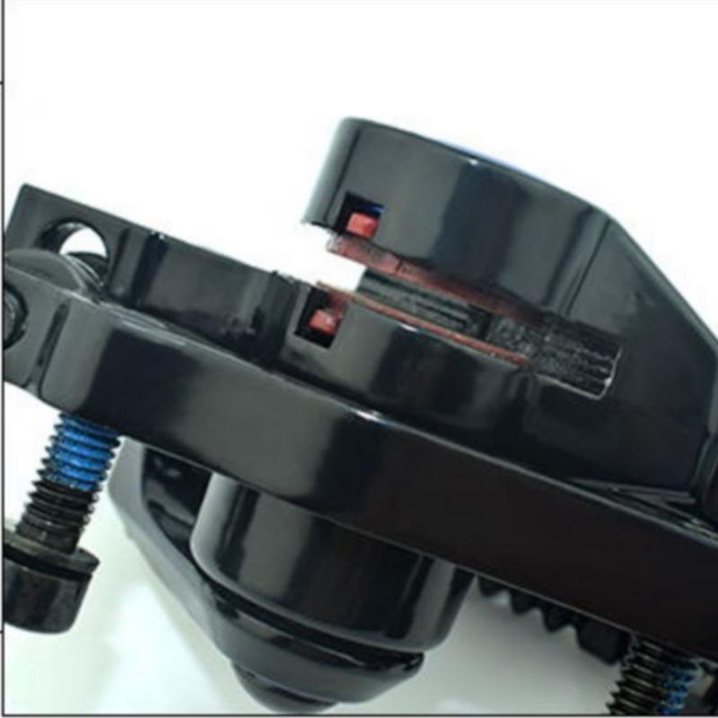 RAMBOMILRoadВелосипедВелосипедВелосипедТормозной диск F-1 Передний задний колесный тормозной диск Rotor Набор - фото 6