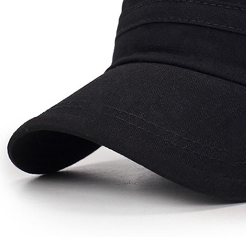 Мужчины Женское сплошной цвет моде хлопок плоские шапки зонтик случайные на открытом воздухе регулируемая шапка - фото 7
